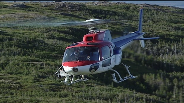 Newfoundland and Labrador Hydro says the aircraft seized belongs to Canadian Helicopters Limited.