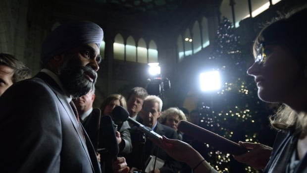 Defence Minister Harjit Sajjan says Canada has a wide variety of options when it comes to contributing to the fight against ISIS in Syria and Northern Iraq. It's unclear how Canada responded when asked by the U.S. for additional military contributions this week.