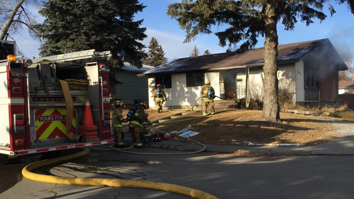 Fairview House Fire Sends Man To Hospital With Potentially