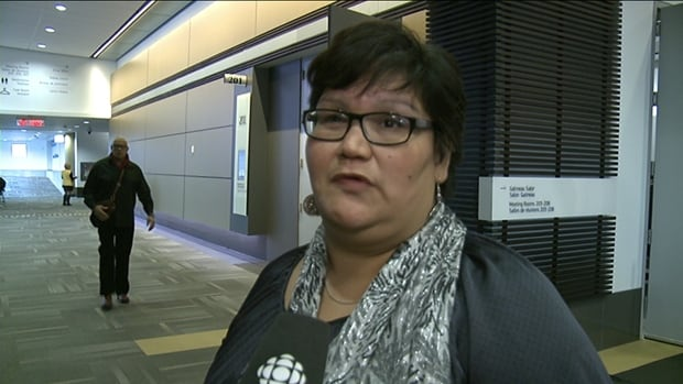 Colleen Cardinal was born in Edmonton but was adopted by a non-indigenous family in Ontario.