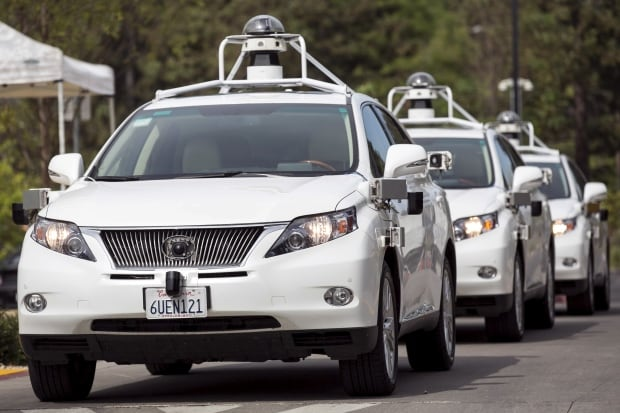 USA-GOOGLE CAR