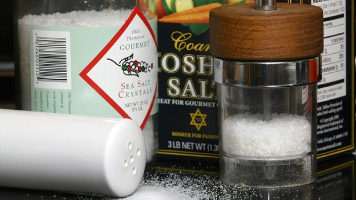 Low-sodium diets not always worth their salt, McMaster..