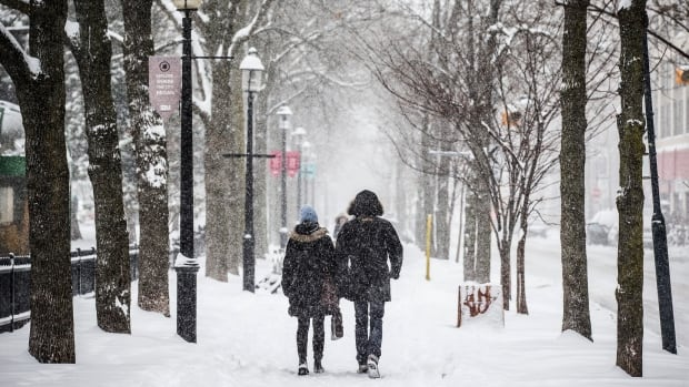 Flurries in the forecast this morning could drop up to four centimetres of snow on Toronto. High of 0 C today.