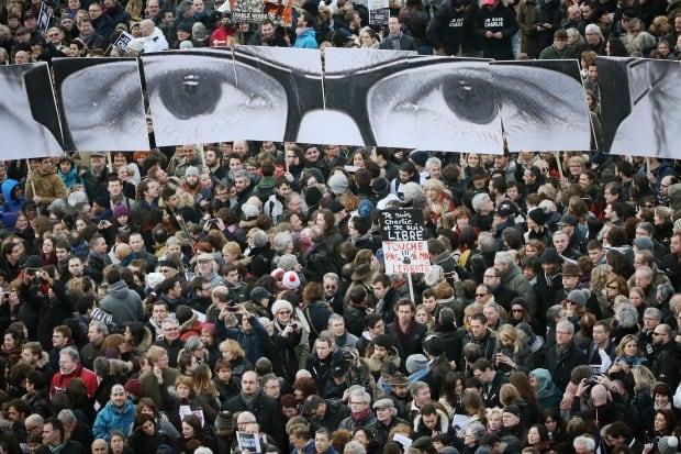 2015 year in photos Charlie Hebdo Marche Republicaine Jan 11