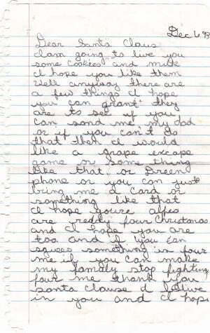 Tom Hurst letter