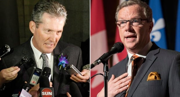 Brian Pallister and Brad Wall