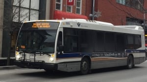 GRT bus-holiday schedule