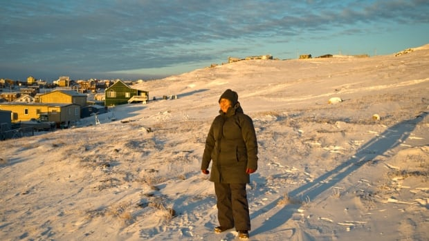 Karla Jessen Williamson, shown here in Iqaluit, is an Inuk from Greenland and an assistant professor of educational foundations at the University of Saskatchewan. 'Decolonization for me is looking at what the Inuit generations have done previously before we entered into the colonizer's mindset.'