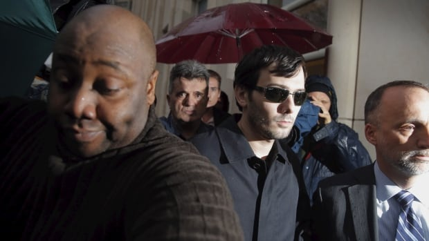 Martin Shkreli was arrested and charged with securities fraud earlier this month.