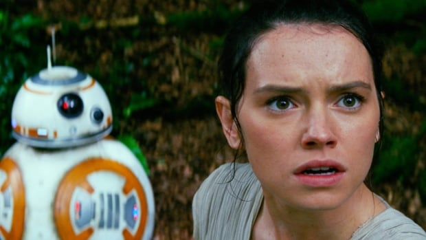 A scene from Star Wars: The Force Awakens with Daisy Ridley, right, as Rey, and BB-8. The J.J. Abrams-directed film ...</p></div></div></div><a class=