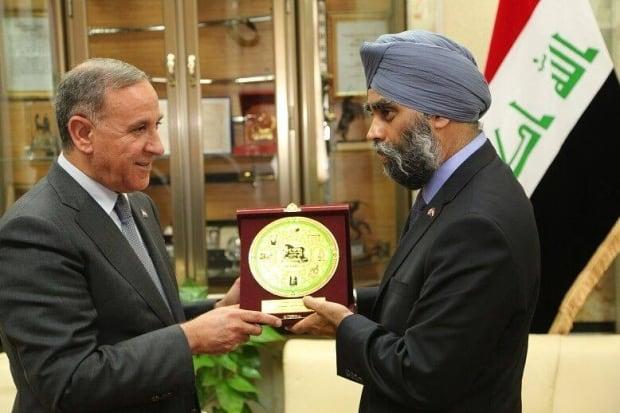 Harjit Sajjan Iraq