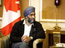 Defence Minister Harjit Sajjan says sticking with the airstrike mission in Iraq and Syria wouldn't be 'responsible.'