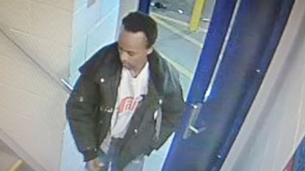 Calgary police released this photo of the parkade sexual assault suspect the same day a woman was attacked