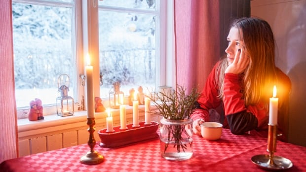 Feelings of loneliness can be amplified during the holidays when there's an expectation that everything should be perfect.