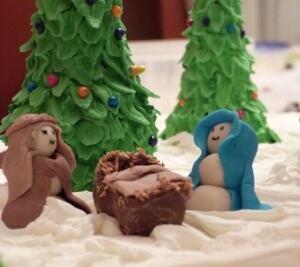 Gingerbread basilica
