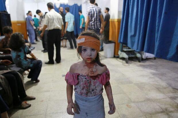 2015 photos of the year Douma Syria shelling Aug 22