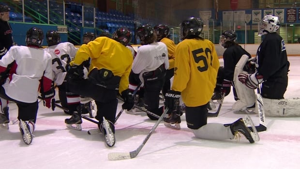 The Under 16 Mustangs were formed this year as an option for promising young Yukon hockey players who want to stay in the territory to pursue their hockey dreams.