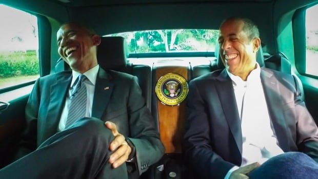 U.S. President Barack Obama participated in Jerry Seinfeld's web show Comedians in Cars Getting Coffee in which he answered questions on a range of topics, including his underwear.
