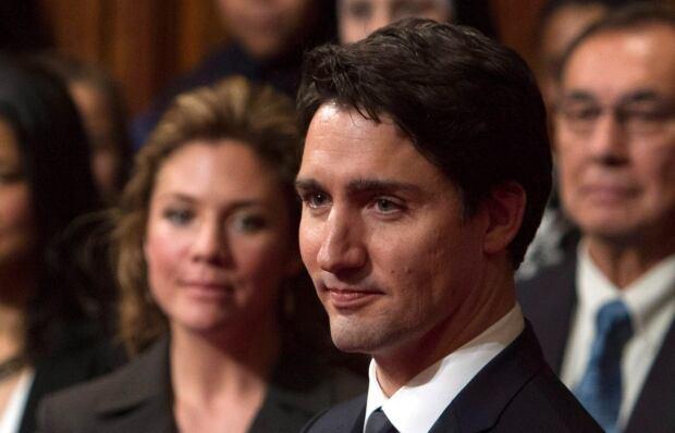 Trudeau in Senate