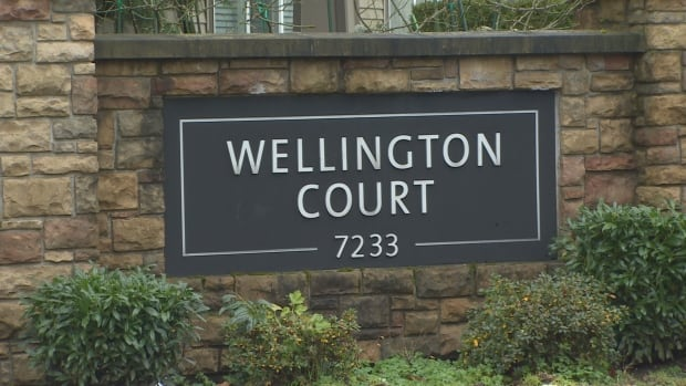 Wellington Court condo owners are embroiled in a language debate that's dividing the small community of home owners.