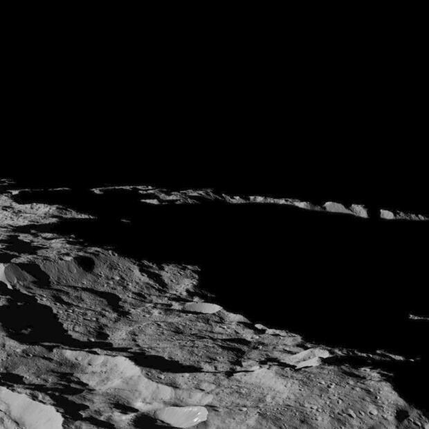 Ceres south pole