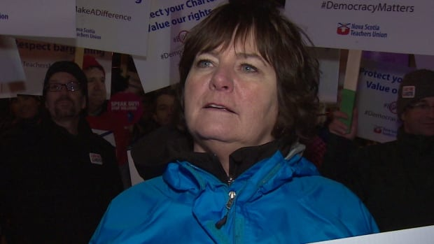 Nova Scotia Teachers Union president Shelley Morse and the rest of the union's executive endorsed a tentative agreement with the government. That was rejected by the teachers, which led to a showdown and one of the biggest political stories out of the province this year.