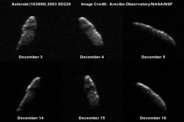 Asteroid 2003 SD220