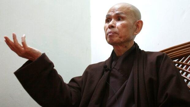 Vietnamese monk Thich Nhat Hanh