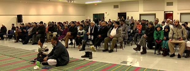 Hundreds participated in the event held at a northeast community centre