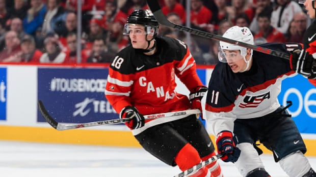 Canada will open against the United States on Saturday as they begin defending their world junior championship title.
