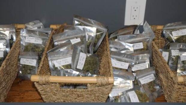 Marijuana seized in Compassion Club raid.