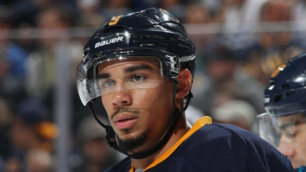 Buffalo Sabres forward Evander Kane saved the best moment (his only moment) for last. With the Jets net empty, Kane beat Dustin Byfuglien to a loose puck and instead of simply grabbing a cheap goal against his former team, he passed it through two Jets players over to Sam Reinhart, who buried it for his first NHL hat-trick.