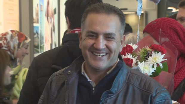 Mohammad Kurdi at YVR Vancouver International Airport