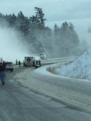 Crash on Highway 97C leaves 7 people seriously injured