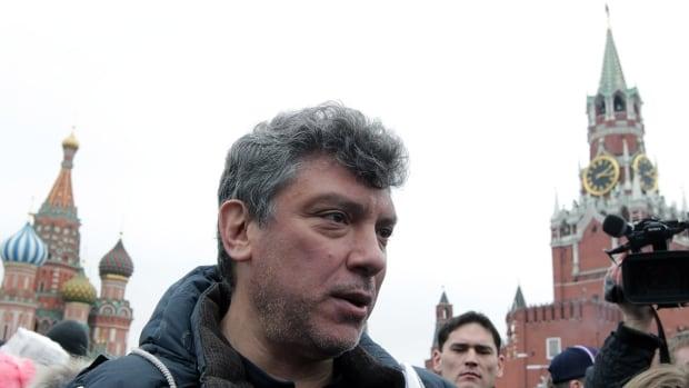 Boris Nemtsov, seen in a 2012 photo, was gunned down Feb. 27 as he was walking just outside the Kremlin.