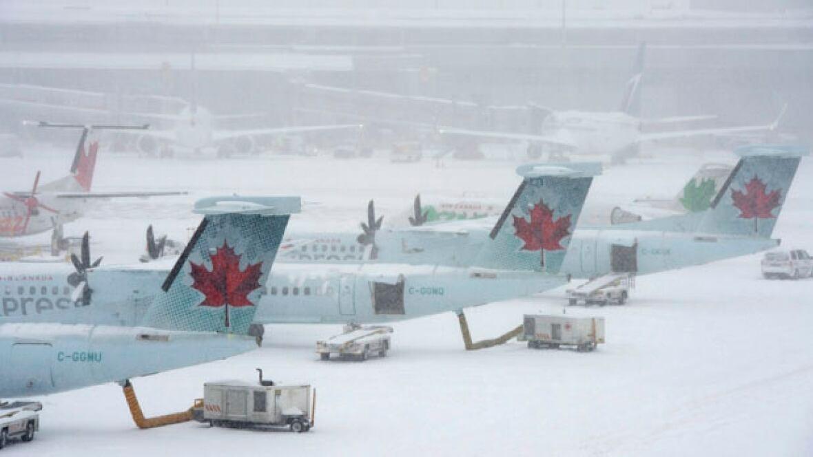 Winnipeg Flight Delays Cancellations As Eastern Canada