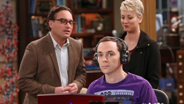 Johnny Galecki, from left, Jim Parsons and Kaley Cuoco-Sweeting appear in a scene from The Big Bang Theory.