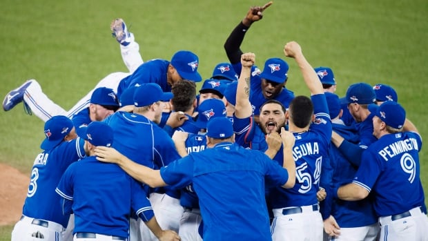 The Blue Jays celebrated returning to the playoffs for the first time in 22 years and were two wins away from the World Series. They were easily voted Canadian Press team of the year.