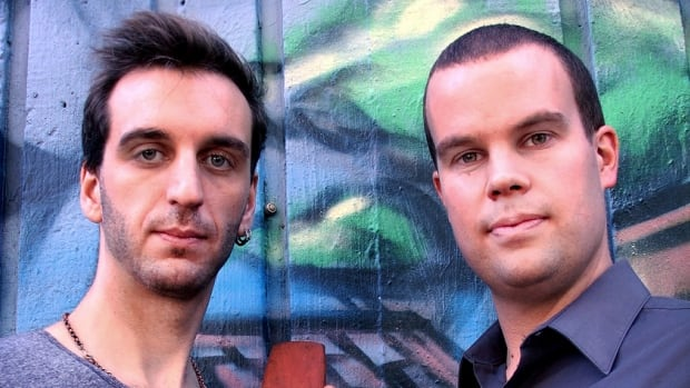 Greg Harrison (left) and Jonny Smith (right) made the top 10  list for CBC's Classical Albums of the Year.