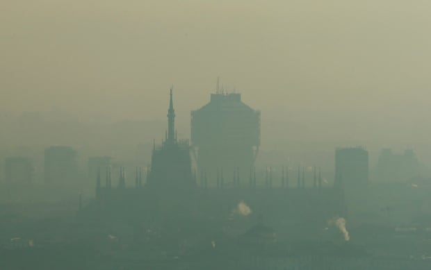 APTOPIX Italy Smog