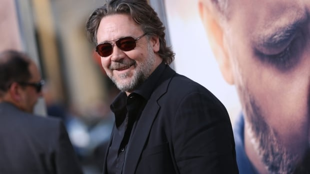 Russell Crowe arrives at the Los Angeles premiere of The Water Diviner at TCL Chinese Theatre, on April 16, 2015.