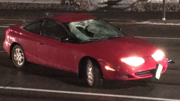 Peel Police said the man was struck at the intersection of Rathburn Road East and Tomken Road in Mississauga.