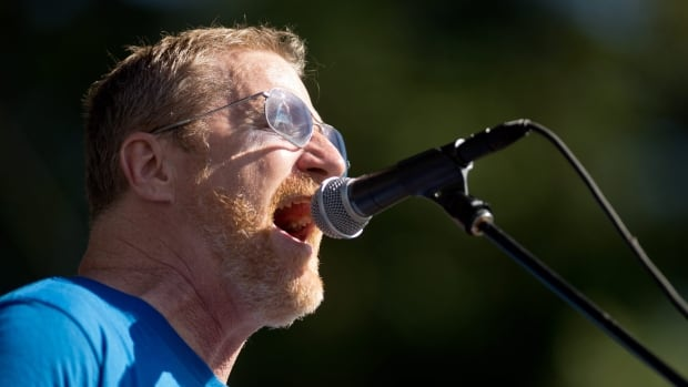 David Lowery, seen during a  2014 Camper Van Beethoven performance in Napa, Calif., has been a critic of digital royalty rates.