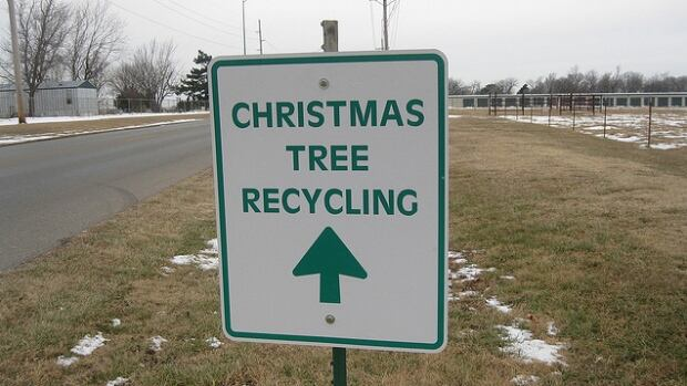 There are Christmas tree recycling stations set up across Metro Vancouver.