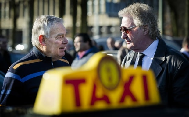 NETHERLANDS TAXI UBER PROTEST
