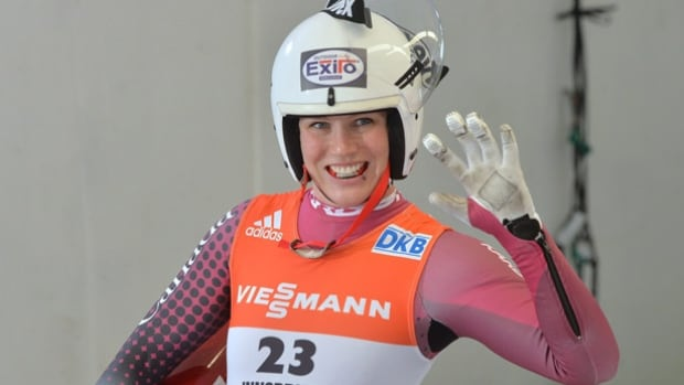 Calgary luge athlete Alex Gough is among the national team members participating in the Put a Lid on It campaign, calling for increased awareness about brain injuries.