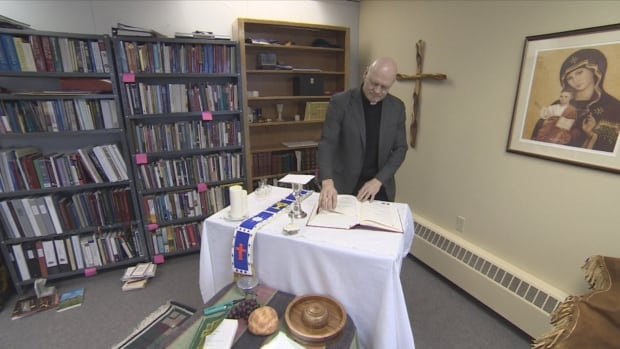 Mark Hagemoen, Bishop of the  Roman Catholic Diocese of Mackenzie-Fort Smith, says he welcomes the idea of an apology from the Pope. 'I certainly welcome it and I know many people here in the diocese would love to see Pope Francis come.'