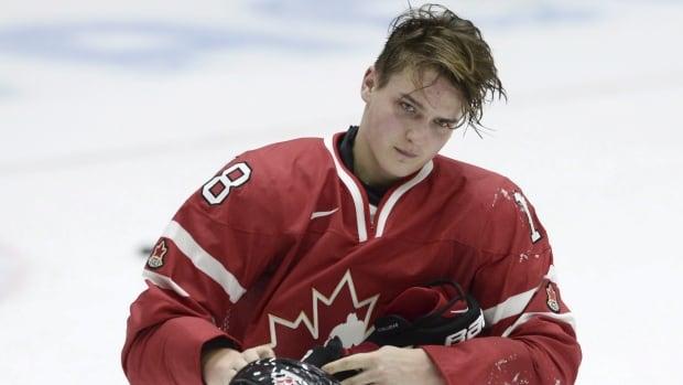 Canada's Jake Virtanen is one of the team's returning players from last year's gold-medal winning team.