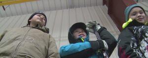 Kids Tuktoyaktuk hockey