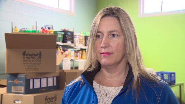 Karen Theriault, director of development and communications at Feed Nova Scotia, said  donations at the food bank appear to be down in November and December.